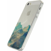 Xccess TPU Case Apple iPhone 5/5S/SE Blue Mountain