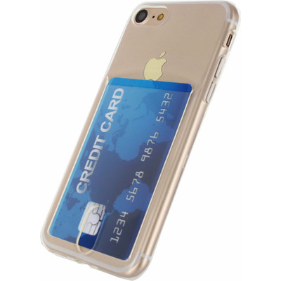 Xccess TPU Card Case Apple iPhone 7 Transparant