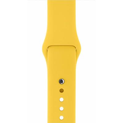 Apple Watch 42mm Polsband Sport Geel