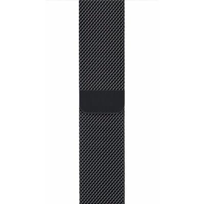 Apple Watch 42mm Polsband Milanees Spacezwart