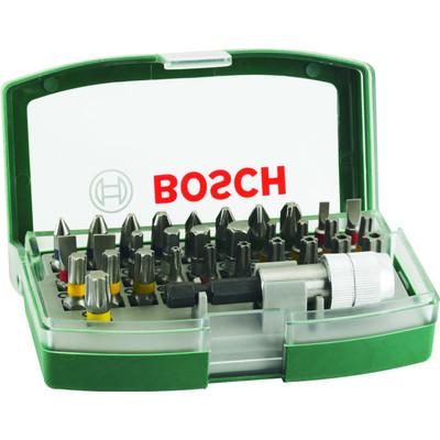 Image of Bitset 32-delig Bosch PROMOLINE 2607017063 Plat, Kruiskop Phillips, Kruiskop Pozidriv, Inbus, Torx BO, Torx