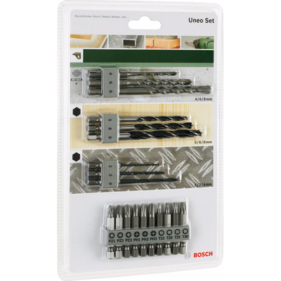 Bosch Uneo Starter - Set - 19-Delig Uneo Mix-Set