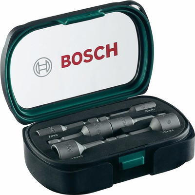 Image of Bosch 6-delige Dopsleutelset