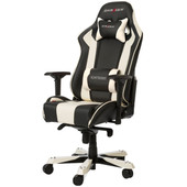 DX Racer KING Gaming Chair Zwart/Wit
