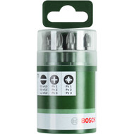 Bosch 10-delige Bitset 25,0mm