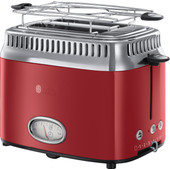 Russell Hobbs Retro Ribbon Rood Broodrooster