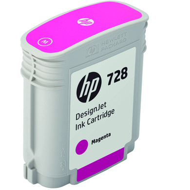 HP 728 Cartridge Magenta (F9J62A)