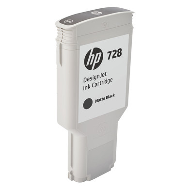HP 728 Cartridge Matzwart XXL (F9J68A)