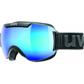 Uvex Downhill 2000 FM Black Mat + Mirror Blue Lens