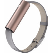Misfit Ray Rose Gold/Leren Polsband