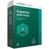 Kaspersky Antivirus 2017 1 jaar abonnement / 1 Gebruiker