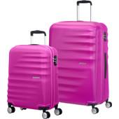 American Tourister WaveBreaker Set A 2 Stuks Hot Lips Pink
