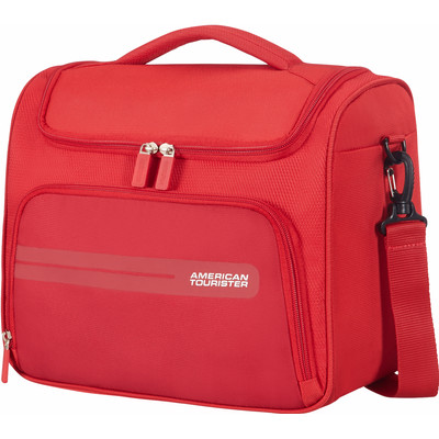 Image of American Tourister Summer Voyager Beauty Case Ribbon Red