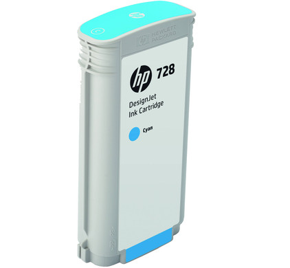 HP 728 Cartridge Cyaan XL (F9J67A)
