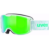 Uvex Skyper FM White/Mint + Mirror Green Lens