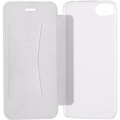 Xqisit Adour Flap Cover Apple iPhone 7 Grijs