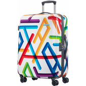 American Tourister Jazz 2.0 Spinner 76 cm Geomatric Print