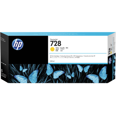 HP 728 Cartridge Geel XXL (F9K15A)