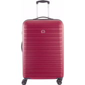 Delsey Segur 4 Wheel Trolley Case 70 cm Red