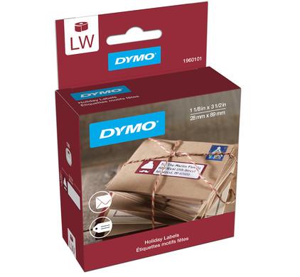 DYMO Kerstlabels LE Houthakker (28 mm x 89 mm)