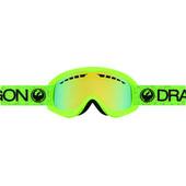 Dragon DX Green + Smoke Gold Lens