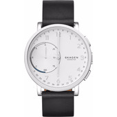 Skagen Hagen Connected Hybrid Zwart Leer