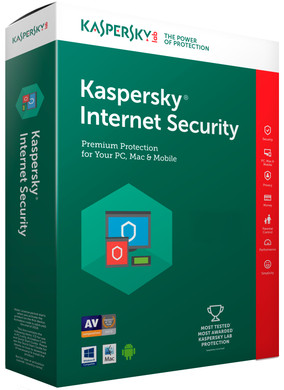 Kaspersky Internet Security 2017 1 jaar abonnement / 5 Gebruikers
