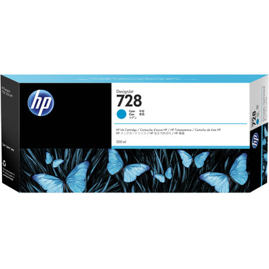 HP 728 Cartridge Cyaan XXL (F9K17A)