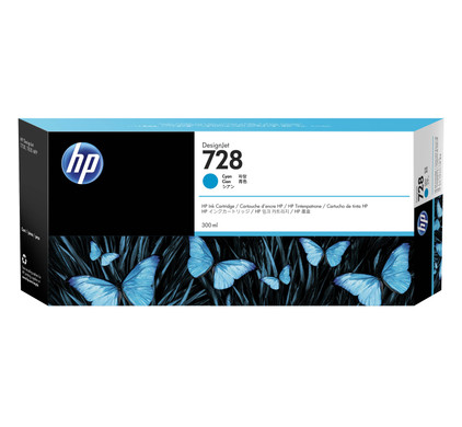 HP 728 Cartridge Cyaan XXL (F9K17A)