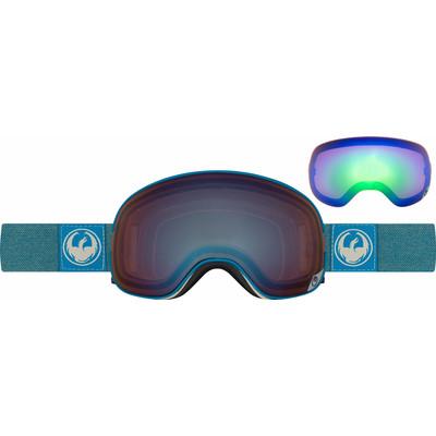 Image of Dragon X2 Hone Blue + Optimized Flash Blue & Optimized Flash Green Ionized Lenzen
