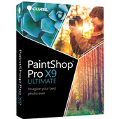 Corel PaintShop Pro X9 Ultimate / Meertalig