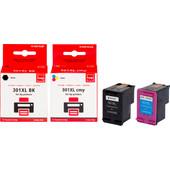 Huismerk HP 301 Cartridge 4-Kleuren (Pixeljet - CR340EE)