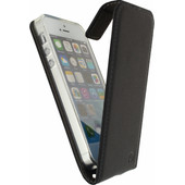 Mobilize Classic Gelly Flip Case Apple iPhone 5/5S/SE Zwart