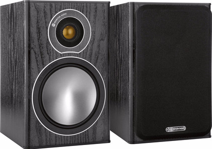 Monitor Audio Bronze 1 (per paar) Zwart