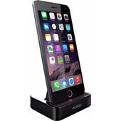 KiDiGi Charge & Sync Dock Apple MFI Zwart