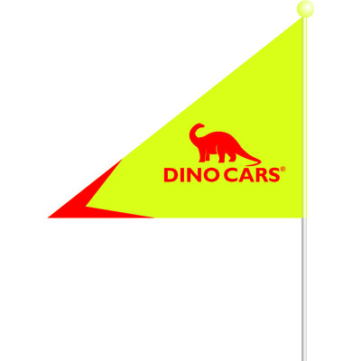 Image of Dino Cars Vlaggetje
