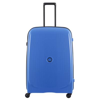 Image of Delsey Belmont SLIM 4 Wheel Trolley Case 76 cm Blue