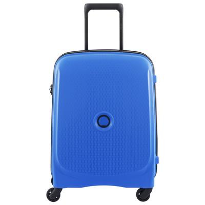 Image of Delsey Belmont SLIM 4 Wheel Trolley Case 55 cm Blue
