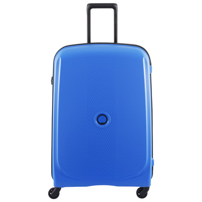 Image of Delsey Belmont SLIM 4 Wheel Trolley Case 70 cm Blue