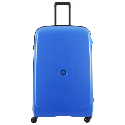 Image of Delsey Belmont SLIM 4 Wheel Trolley Case 82 cm Blue