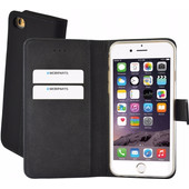Mobiparts Premium Wallet Case Apple iPhone 6/6s Zwart