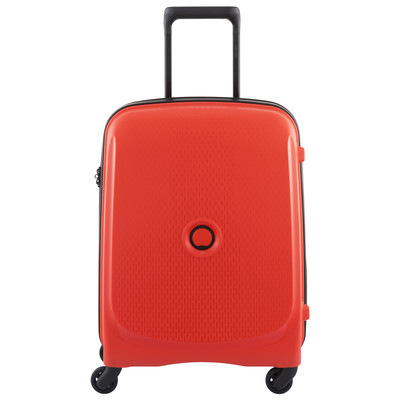 Image of Delsey Belmont SLIM 4 Wheel Trolley Case 55 cm Red