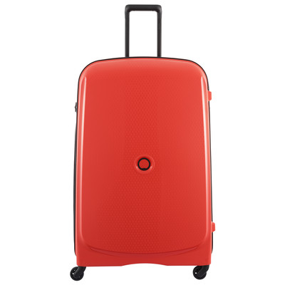 Image of Delsey Belmont SLIM 4 Wheel Trolley Case 82 cm Red