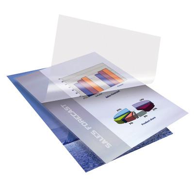 Image of Desq Lamineerhoezen 100 micron Landscape Mat A4 (100 stuks)