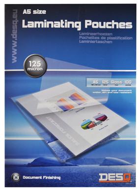 Desq Lamineerhoezen 125 micron A5 (100 stuks)