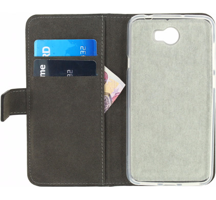 Mobilize Classic Gelly Wallet Book Case Huawei Y5 II Zwart