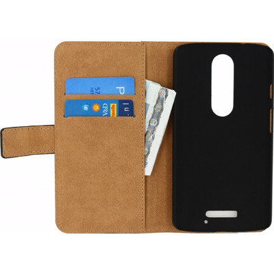 Mobilize Classic Wallet Book Case Motorola Moto X Force Zwart