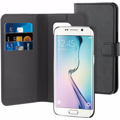 Image of BeHello 2-in-1 Wallet Case Samsung Galaxy S7 Edge Zwart