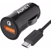 Aukey CC-T5 Quick Charge 2.0 Micro USB Zwart