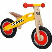 Scratch Balance Bike Small Taxi